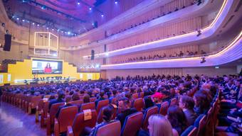 Die Verleihung der Swiss Music Awards fand schon letztes Jahr im KKL in Luzern statt.