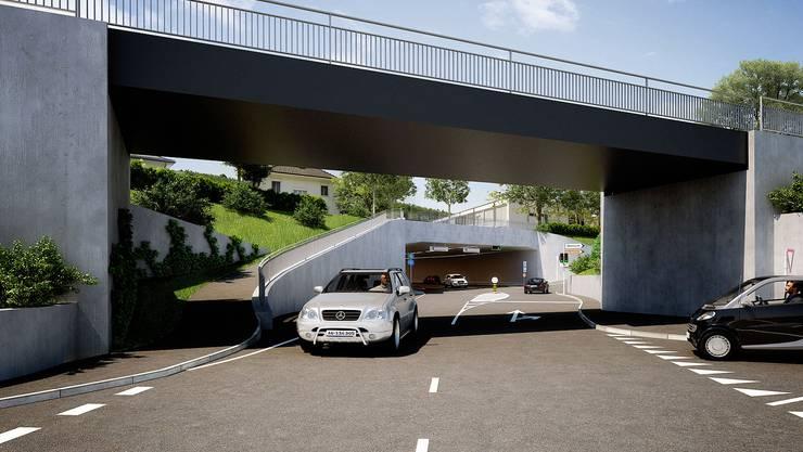Ostumfahrung Bad Zurzach: Projektstand: Auflage abgeschlossen, VCS-Einsprache hängig, Baustart geplant: Sommer 2017, Kosten: 75,26 Millionen Franken