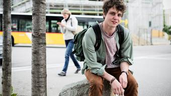 Der angehende Lehrer Dominik Muhe gewann dieses Jahr das 4. Oltner Kabarett-Casting.