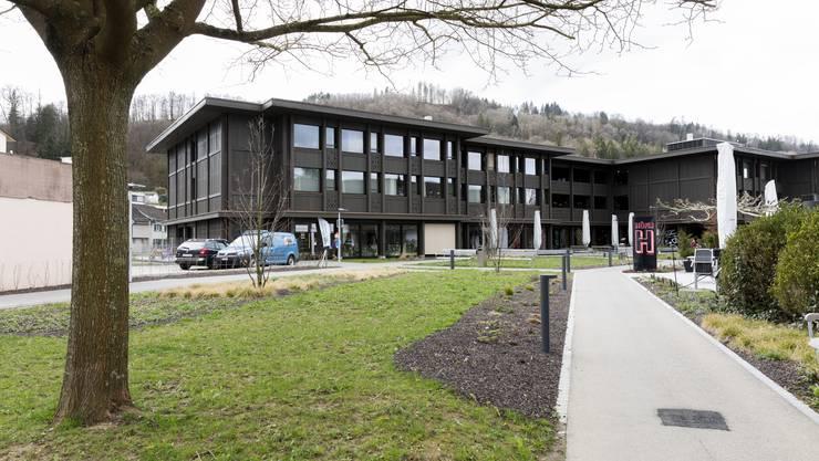 """Im Generationenhaus """"Pfauen"""" in Bad Zurzach ist die Kita untergebracht."""