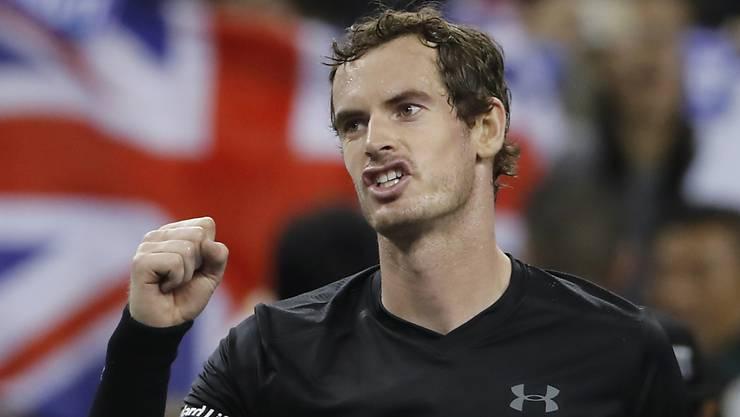 Andy Murray setzt in Schanghai seinen Siegeszug fort
