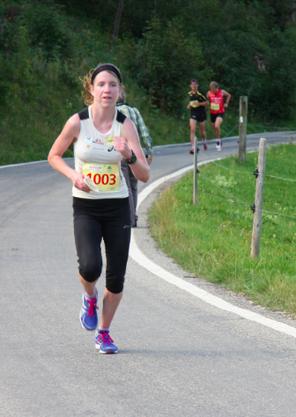 Martina Strähl am Weissensteinlauf 2012