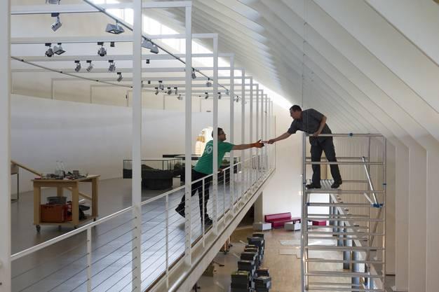 Die Dauerausstellung im Historischen Museum in Baden wird abgebaut.