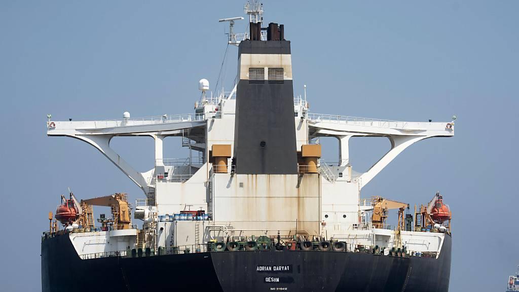 USA belegen iranischen Tanker mit Sanktionen