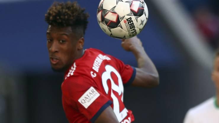 Kingsley Coman und Bayern München überspringen die Hürde Werder Bremen