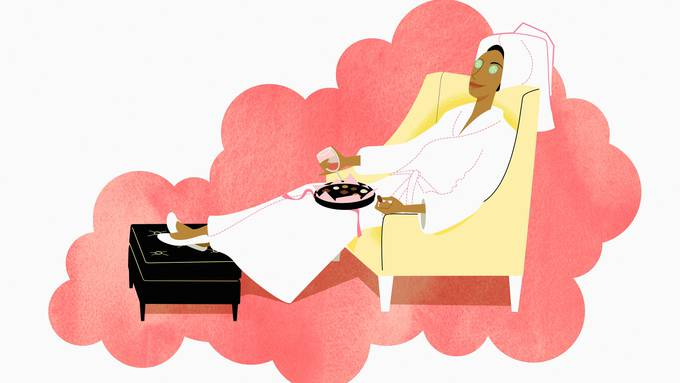 Vor Weihnachten gönnen sich die wenigsten bewusst Entspannung.