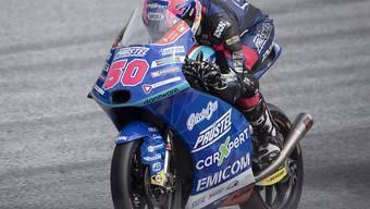 Jason Dupasquier unterwegs auf der Moto3-KTM seines PrüstelGP-Teams