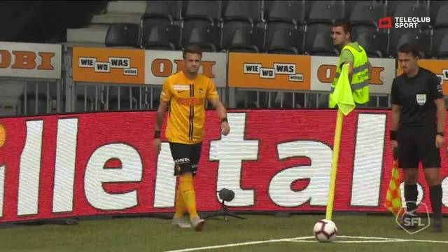 Super League, 2018/19, 7. Runde YB - FC Basel 1:0 Christian Fassnacht