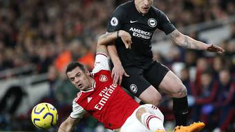 Granit Xhaka und Arsenal am Boden: Die Londoner verlieren gegen Brighton 1:2