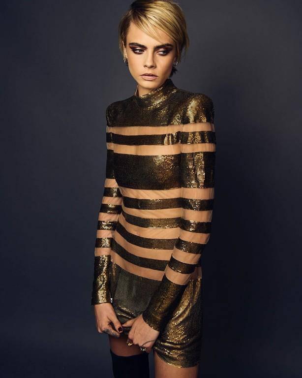 Auch was die Kleidung angeht, mag sie es provokativ. (© Instagram)