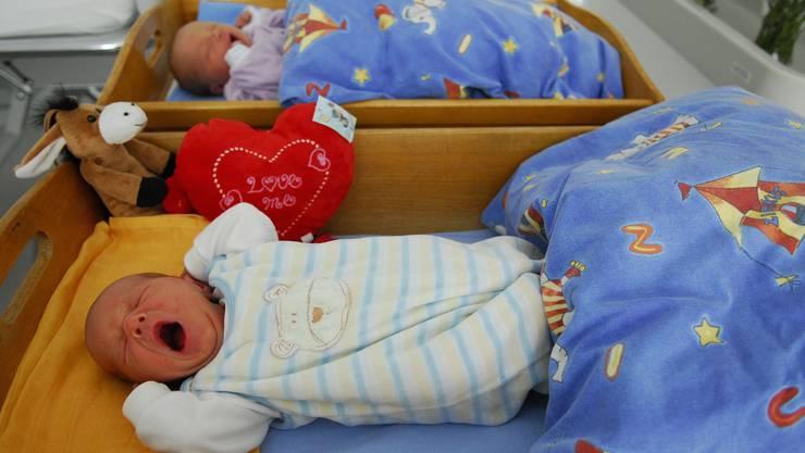 Babyboom: Auch andere Spitäler in der Region verzeichnen steigende Geburtenzahlen.  mz Archiv