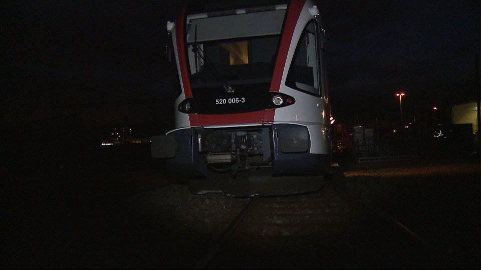 Zug wegen Sturm entgleist