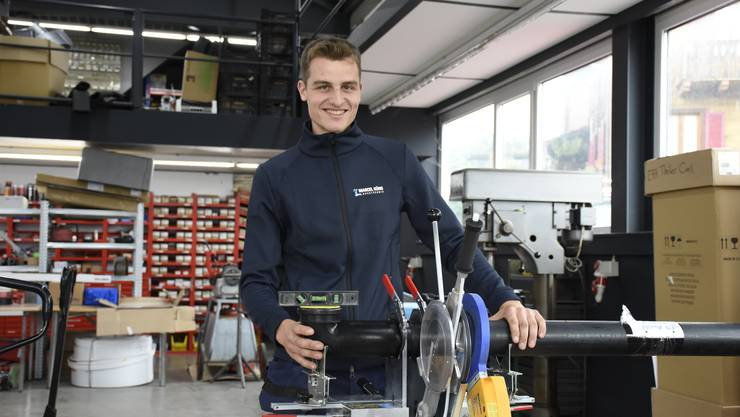 Mit seinem genauen Handwerk hat sich Sandro Meier an den diesjährigen Swiss Skills bewiesen.