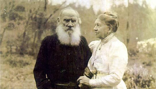 Gegenstand der musikalischen Lesung: Lew und Sofia Tolstoj.