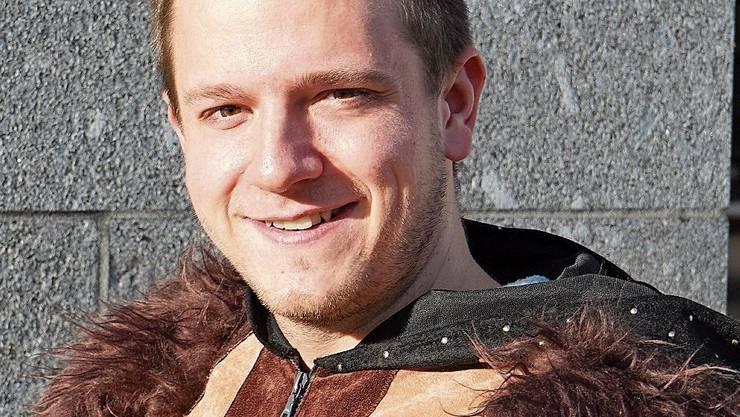 Philipp Dürr spielte früher Pauke und heute Trompete.