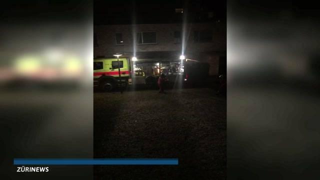 Brand in Schwamendingen