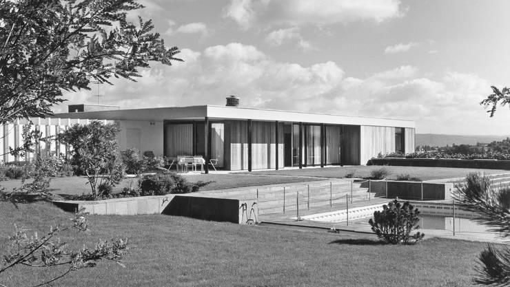 Suter & Suter, Einfamilienhaus in Binningen (BL), 1960/61.