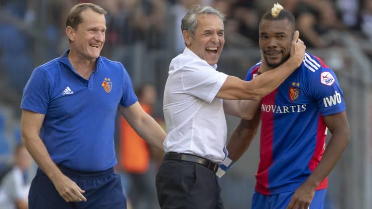 Unter Marcel Koller ist Geoffroy Serey Dié beim FC Basel nicht mehr wegzudenken.