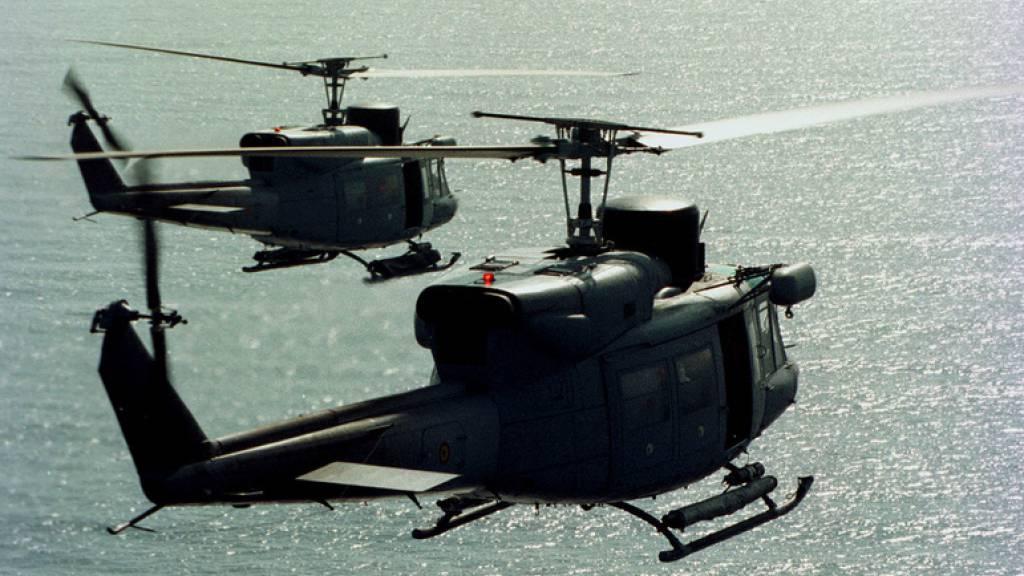 Prozess vor Bundesstrafgericht wegen Import von Militärhelikoptern