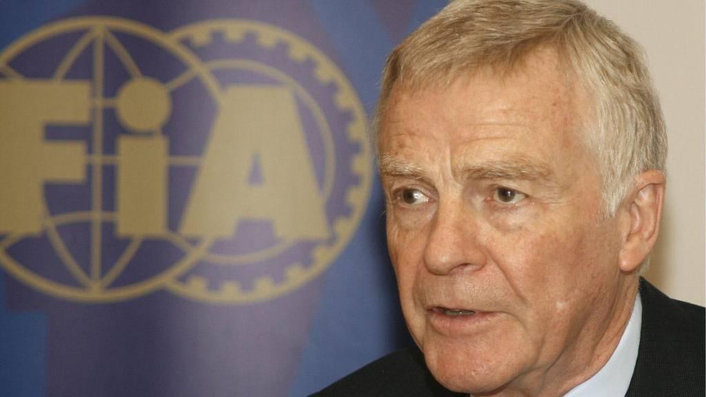 Ex-Weltverbandschef Mosley: Saison sollte abgesagt werden
