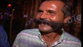 Aufgefallen an der Badenfahrt 1997: ein Herr mit imposantem Schnauz.