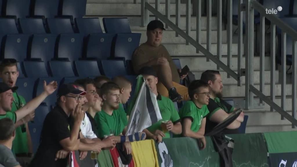SC Kriens gegen Rapperswil