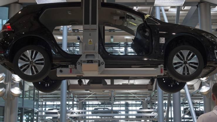 Mehr verkauft und gespart: VW konnte den Gewinn Anfang Jahr steigern (Symbolbild).