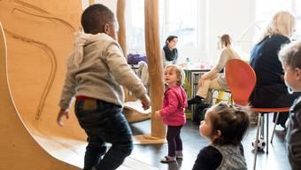 Das Café im «Karussell» ist bei Eltern und Kinder ein beliebter Treffpunkt geworden.