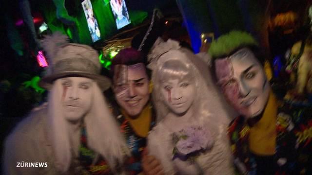 Exklusivste Halloween-Party von Zürich