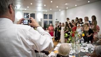 Modeschau des Gemeinnützigen Frauenvereins in Schöftland