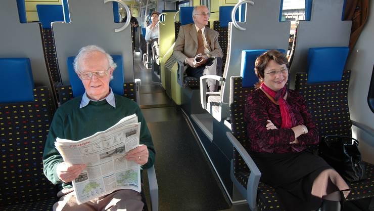 Flirt-Züge sollen durchgehend von Mulhouse ins Fricktal fahren.