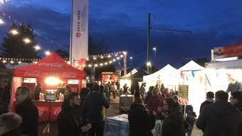 Die letztjährige AGVS-Auto-Ausstellung in Stein mit Food Festival.
