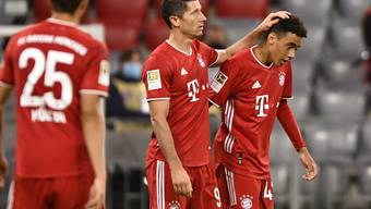 Nach den Toren 5 bis 8 ergaben sich die Münchner nicht mehr in überschwänglichen Jubel