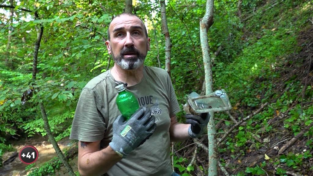 Waldmenschen: Wald-Aufräumer