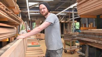 «Kein Baum ist gleich, jedes gefertigte Stück ist einzigartig», sagt Dean.