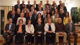 So präsentierte sich das neue Schlieremer Parlament am Montagabend.