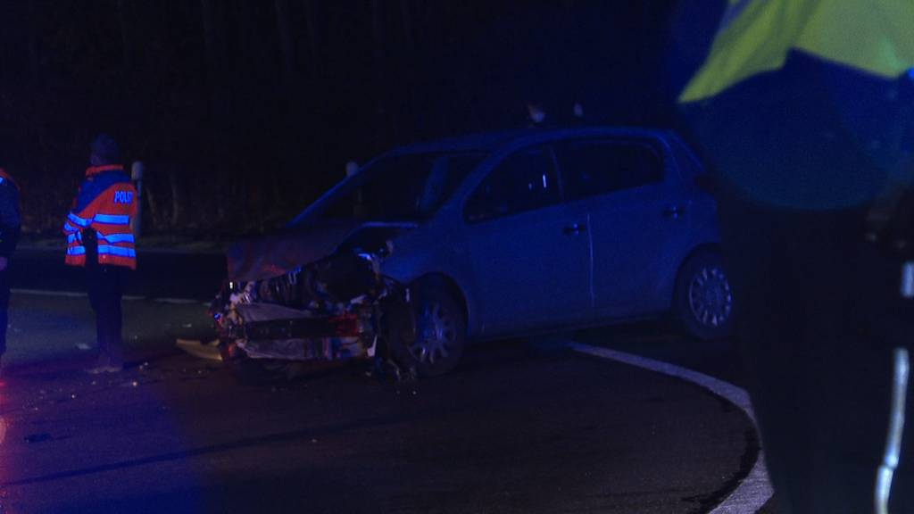 Mehrere Autounfälle in Bremgarten wegen Glatteis