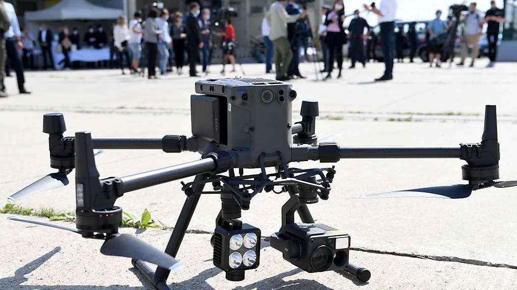 Österreich testet Drohnen im Kampf gegen Schlepper an Grenzen