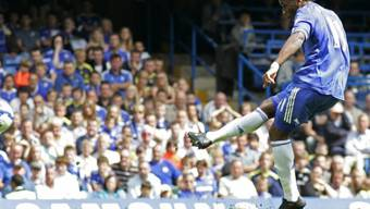 Massarbeit von Chelsea-Stürmer Didier Drogba
