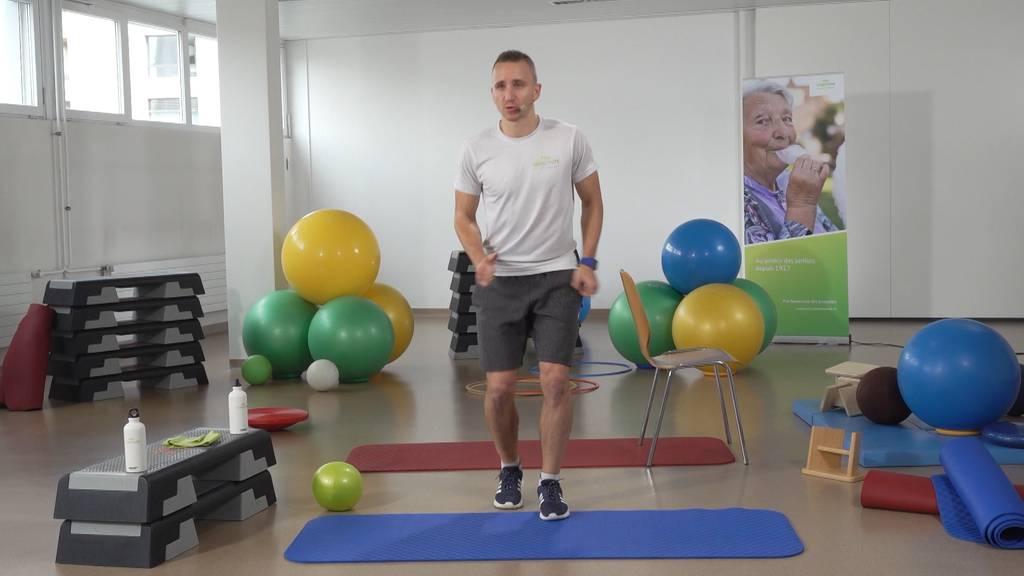 «Gymnastik im Wohnzimmer» vom 6. Mai 2021