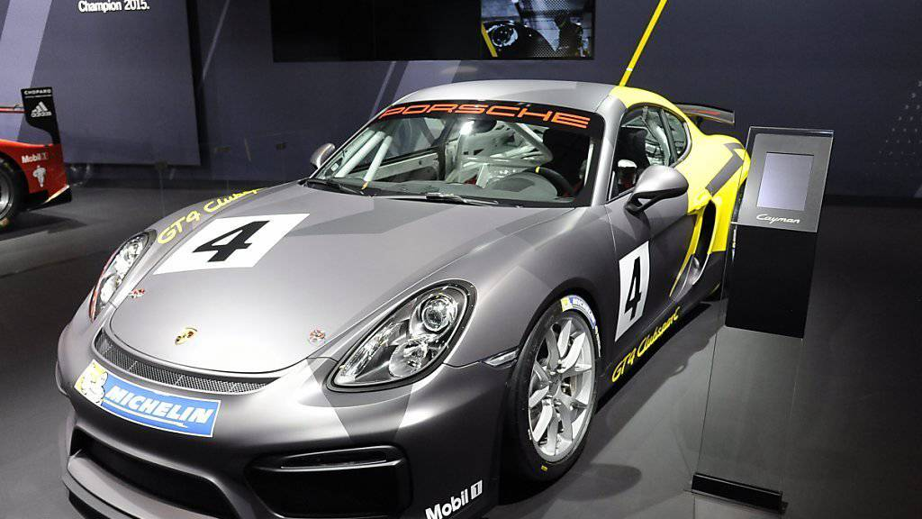 Porsche gibt es in Zukunft auch als Elektro-Sportwagen (Symbolbild).