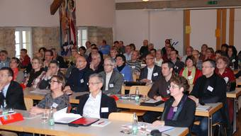 Behörden und Verwaltungen befassen sich am Fricktaler Gemeindeseminar mit aktuellen Themen.