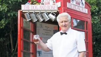 Der Telefonkabinen-Pub in Grossbritannien, dem der Titel nicht gegeben wurde