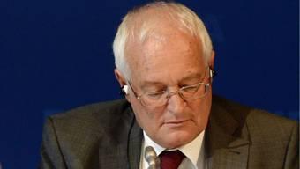 Verstoss gegen die Vertraulichkeit? Fifa-Ethikhüter Hans-Joachim Eckert.