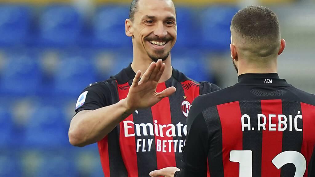 Inter lässt Federn - Ibrahimovic trifft beim Comeback für Milan