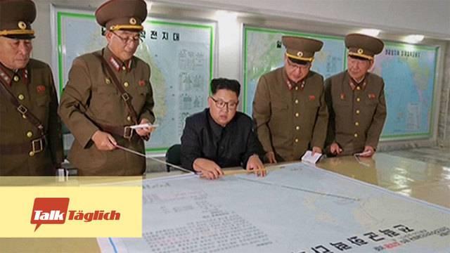 Drohgebärden aus Nordkorea