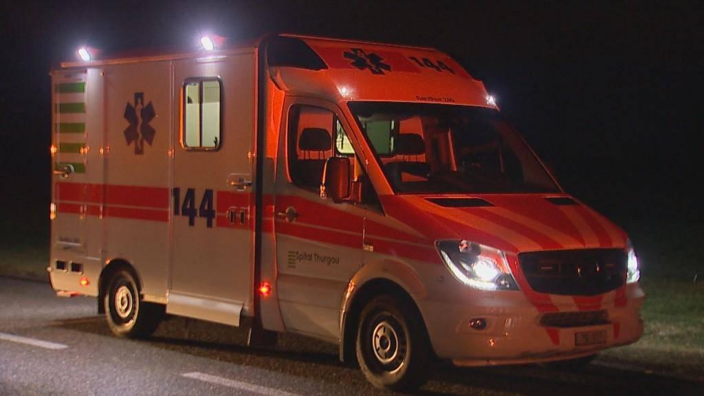 Unfall Schweizershof (© BRK News/Beat Kälin)