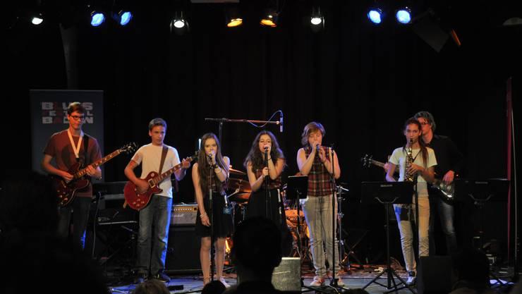 Die CD-Taufe in der Stanzerei war der erste gemeinsame Auftritt der Blueskidz - es wird nicht ihr letzter sein