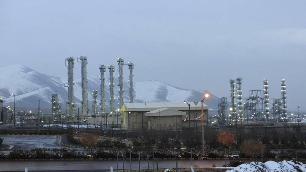 Atom-Reaktor bei Arak: Iran muss seinen Uran-Bestand verringern (Symbolbild)