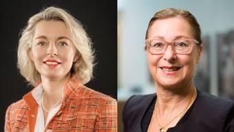 Ursula Nold (links) schlug ihre Gegnerin Jeannine Pilloud überraschend deutlich.